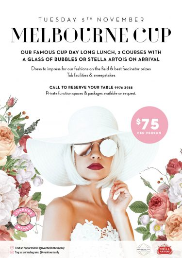 What's On | Melbourne Cup Manly | Manly Pub | Manly Meal
